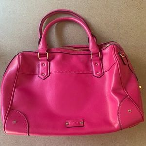 Lodis Pink and Gold Bag